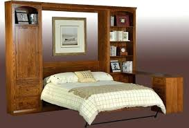 sideways bed wall beds plans murphy diy