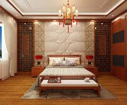 Beautiful Chinese bedroom decoration