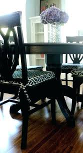 literarywondrous cushion dining room chairs living in the rain garden dining room chair cushion slipcover tutorial