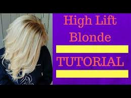 Wella High Lift Blonde Babylights Tutorial