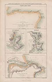 Sea Charts Scotland Scotland Sea Charts Greenville Collins Antique Prints Maps