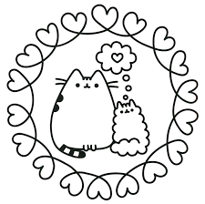 Printable Pusheen Coloring Pages Sketch Free Printable Coloring Pages