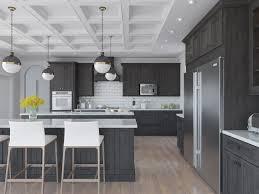 natural graphite grey shaker rta kitchen cabinets