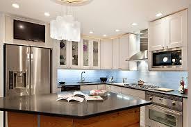 kitchen backsplash glass tile blue. Architektur Houzz Kitchen Backsplash Tile Dcc10c9e0b87465a 2047 W500 H666 B0 P0 Gallery Glass Blue