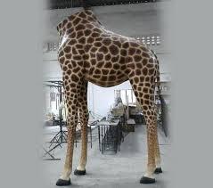 giraffe statue life size garden catering old greenwich