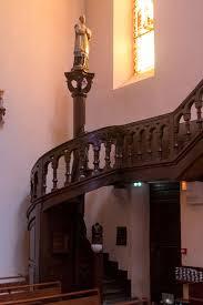 file hasparren Église saint jean baptiste escalier des tribunes g 20161222 jpg