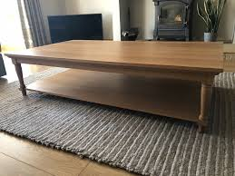 neptune solid oak large coffee table in morpeth northumberland gumtree