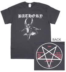 Bathory T Shirt Goat Desimdcom