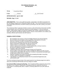Correctional Officer Job Description Resume 100 Correctional officer job description resume powerful 17