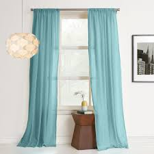 cool blue vertical striped curtains design ideas with pendant lighting and picture frame also white theme