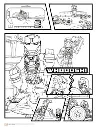 Kids N Coloring Pages Of Marvel Avengers Avengers Civil War 2 Marvel
