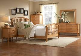 Light Maple Bedroom Furniture Townhouse Cal King Slat Bed With Dresser 4 Cartons 139999