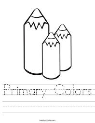 color worksheets for kids. Wonderful For 3 Big Crayons Worksheet Intended Color Worksheets For Kids