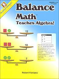 balance math teaches algebra