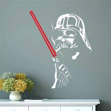 star wars wall art home decoration wall decals vinyl house decor mural famous movie sticker for on star wars wall art stickers with star wars wall art home decoration wall decals vinyl house decor