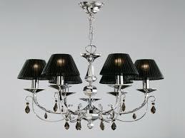 satin nickel chandeliers
