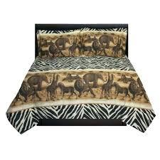jungle cot bed sheets transformer set safari comforter sham blebee