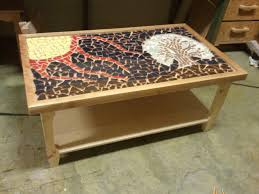 ... Stunning Ideas Mosaic Coffee Table Wonderful Decoration Interior Design  Handmade Premium Material High Quality ...