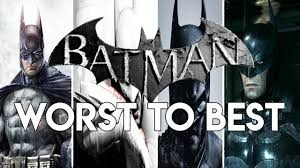 Ranking The Batman Arkham Games From Worst To Best - YouTube
