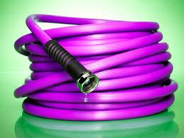 purple garden hose