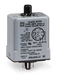 replacing a square d schneider 8430mps or 8430mpd phase monitor 8430mps series plug in
