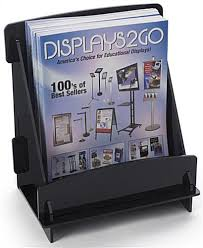 Wide Magazine Holder Flat Pack Magazine Holder For Countertop or Tabletop Use 62