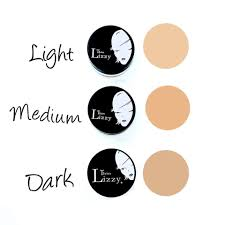 Thin Lizzy Concealer Colour Chart Thin Lizzys 7 Piece Loose Mineral Foundation Starter Kit Is
