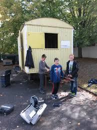 Grund Und Mittelschule Kreuzberg Ag Bauwagen