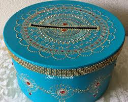 Decorated Money Box Henna gift card box Etsy 36