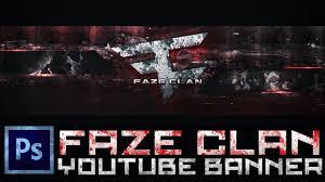 ' Banner Art Clan Cs6 photoshop 'faze Speed Youtube Bwn8q4xBXT