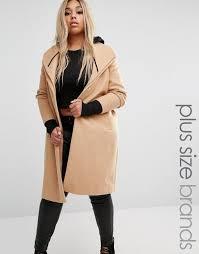 river island plus double collar smart coat camel women coats river island shirts