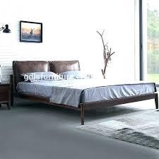 Platform King Bed Frame Step One King Size Platform Bed In Pure Black