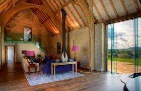 restoration barn interior living e