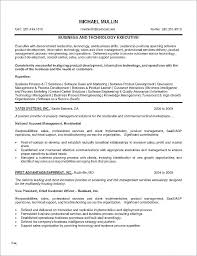 Executive Resume Example Resume Examples For Executives Unique ...