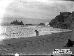 ocean beach 1890