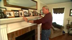 DIY Fireplace Mantel - YouTube