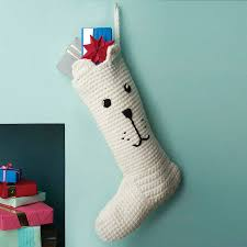 Handmade Christmas Stockings Handmade Polar Bear Christmas Stocking By Eka Notonthehighstreetcom
