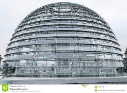 Modern architecture. Reichtag Dome, Berlin, Germany