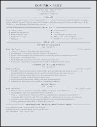 Scholarship Resume Outline Rotc Scholarship Resume Example Template Net
