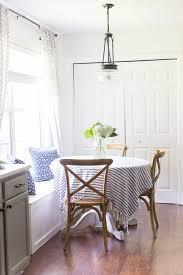 nook lighting. How To Style A Breakfast Nook Lighting