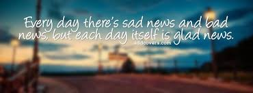 be thankful for every day
