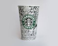 starbucks coffee cup drawing.  Cup Starbucks Coffee Cup Drawing Design Starbucks Coffee Cup Design Drawing   Intended G