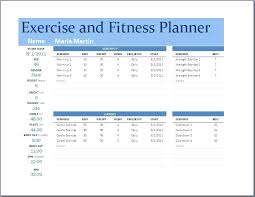 Exercise Program Templates Exercise Training Program Template Weight Session Gym Class