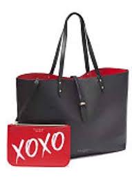 victoria s secret valentine tote bag and mini makeup bag xoxo