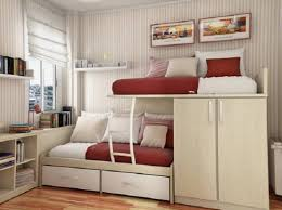 Impressive Bunk Bed For Small Room Arrange A Small Bedroom With A Bunk Bed  Modern Home Designs