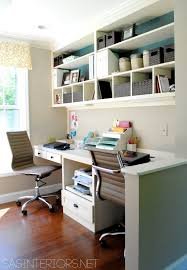 craft room home office design. (I Like The Nook For Sewing Machine And Dual Spaces Computing Sewing/crafting) Craft Room \u0026 Office Reveal - Creative Nest Home Design