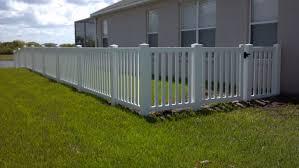 vinyl fencing. Vinyl Fence Tampa Florida Fencing