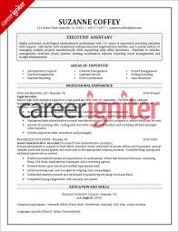 Best Executive Assistant Resumes Executive Assistant Resume Sample By Www Riddsnetwork In