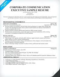 Communications Resumes Best Sample Resume Manager Maker Create