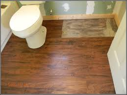 Vinyl Bathroom Floors How To Install Vinyl Plank Flooring In A Bathroom Droptom